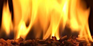 Burning Pellets