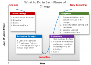 What to do in Each Phase of Change